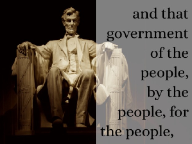 Lincoln frase democracia