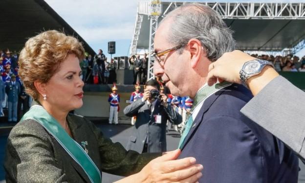 Dilma vs Cunha