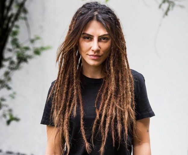 Cleo Pires com dreadlocks