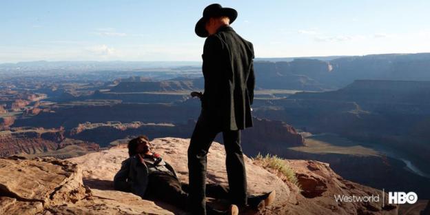 Westworld 1x01 The Original cena 2